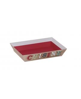 CORBEILLE CARTON PERSO CUISINE