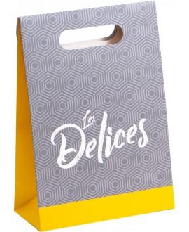 BOITE CARTON DECO 'LES DELICES'