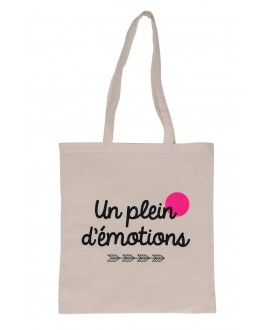 TOTE BAG PLEIN D EMOTION