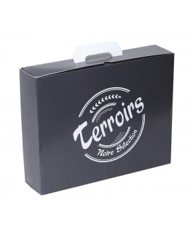 VALISETTE CARTON 'Terroir' GRIS  Mini commande 50p