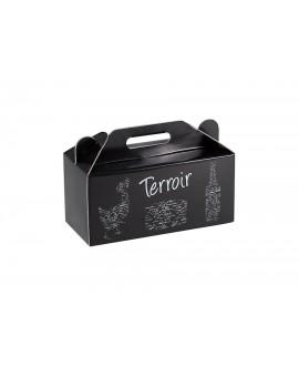 COFFRET CARTON 'Terroir' NOIR '  Mini commande 40p