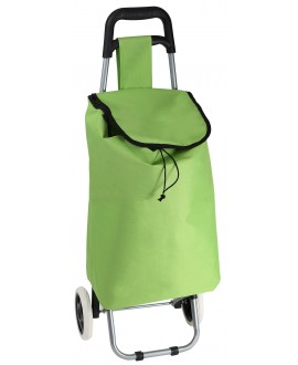 SAC CHARIOT VERT A ROULETTES