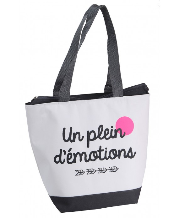SAC ISOTHERME 600D PLEIN EMOTION