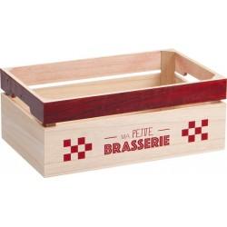 CAISSE BOIS ROUGE 'MA PETITE BRASSERIE' 12 BIERES STEINIE
