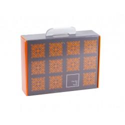 VALISETTE CARTON LOGO 'MA BOX TERROIR' - Mini commande  50p